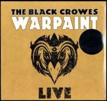 The Black Crowes: Warpaint Live (180g) (Limited Edition), 3 LPs