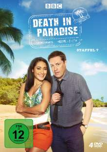 Death in Paradise Staffel 7, 4 DVDs