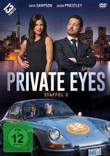 Private Eyes Staffel 2, 5 DVDs
