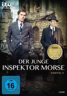 Der junge Inspektor Morse Staffel 5, 3 DVDs