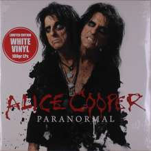 Alice Cooper: Paranormal (180g) (Limited Edition) (White Vinyl), 2 LPs