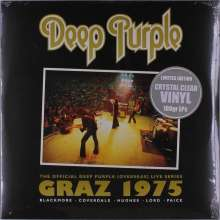 Deep Purple: Graz 1975 (180g) (Limited-Edition) (Crystal Clear Vinyl), 2 LPs