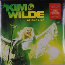 Kim Wilde: Aliens Live (180g) (Limited Edition) (Neon Orange Vinyl), 2 LPs