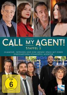 Call my Agent! Staffel 3, 2 DVDs