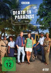 Death in Paradise Staffel 8, 4 DVDs