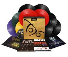 Toto: Treasures - A Vinyl Collection (180g) (Limited Numbered Boxset Edition), 10 LPs und 1 CD