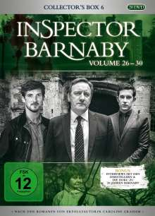 Inspector Barnaby Collector's Box 6 (Vol. 26-30), 20 DVDs