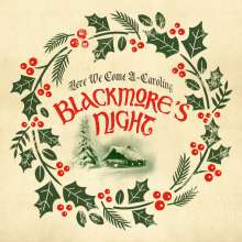 "Blackmore's Night: Here We Come A-Caroling (Transparent Green 10"" Vinyl) (Limited Edition), Single 10"""
