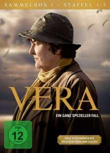 Vera Sammelbox 1 (Staffel 1-3), 12 DVDs