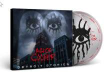 Alice Cooper: Detroit Stories (Ltd.CD+DVD Digipak), 1 CD und 1 DVD