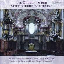 Die Orgeln der Stiftskirche Wilhering, CD