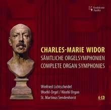 Charles-Marie Widor (1844-1937): Orgelsymphonien Nr.1-10, 6 CDs
