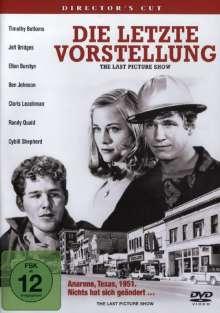 Die letzte Vorstellung (Director's Cut), DVD