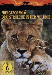 Frei geboren + Drei Strolche in der Wildnis, DVD