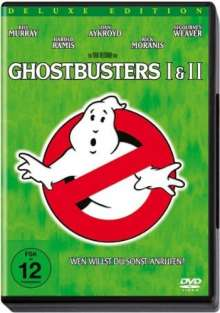 Ghostbusters I & II (Deluxe Edition), 2 DVDs