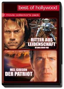 Ritter aus Leidenschaft / Der Patriot, 2 DVDs