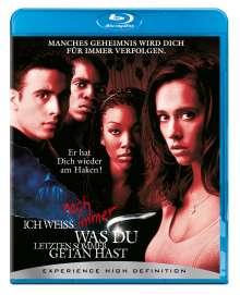 Ich weiß noch immer, was du letzten Sommer... (Blu-ray), Blu-ray Disc