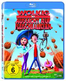 Wolkig mit Aussicht auf Fleischbällchen (Blu-ray), Blu-ray Disc