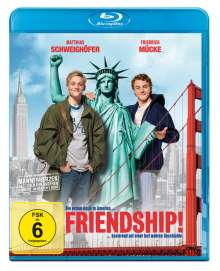 Friendship! (Blu-ray), Blu-ray Disc