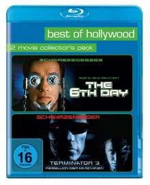 Sixth Day / Terminator 3 - Rebellion der Maschinen (Blu-ray), 2 Blu-ray Discs