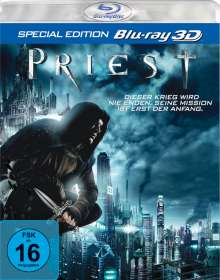 Priest (3D Blu-ray), Blu-ray Disc