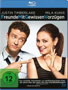 Freunde mit gewissen Vorzügen (Blu-ray), Blu-ray Disc