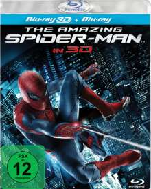 The Amazing Spider-Man (Special Edition) (3D & 2D Blu-ray), 2 Blu-ray Discs