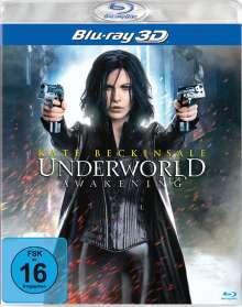 Underworld Awakening 3D (Blu-ray), Blu-ray Disc