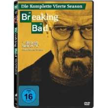Breaking Bad Season 4, 4 DVDs