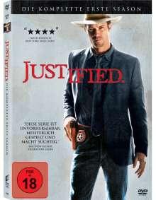 Justified Season 1, 3 DVDs