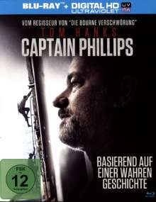 Captain Phillips (Blu-ray Mastered in 4K), Blu-ray Disc