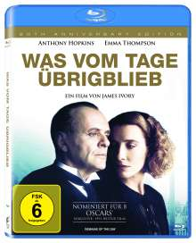 Was vom Tage übrigblieb (Blu-ray), Blu-ray Disc