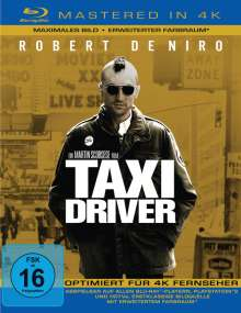 Taxi Driver (Blu-ray Mastered in 4K), Blu-ray Disc