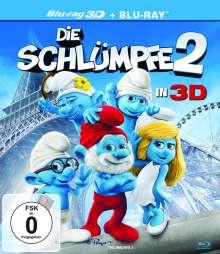 Die Schlümpfe 2 (3D & 2D Blu-ray Mastered in 4K), 2 Blu-ray Discs