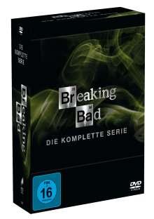 Breaking Bad (Komplette Serie), 20 DVDs