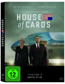 House Of Cards Season 3, 4 DVDs