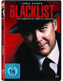 The Blacklist Staffel 2, 5 DVDs