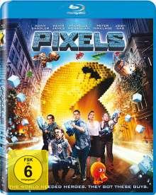 Pixels (Blu-ray), Blu-ray Disc