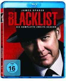 The Blacklist Staffel 2 (Blu-ray), 6 Blu-ray Discs