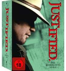 Justified Season 1-6 (Komplette Serie), 18 DVDs