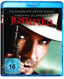 Justified Season 2 (Blu-ray), 3 Blu-ray Discs