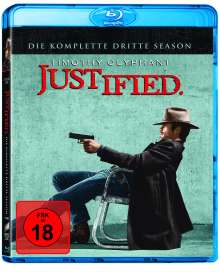 Justified Season 3 (Blu-ray), 3 Blu-ray Discs
