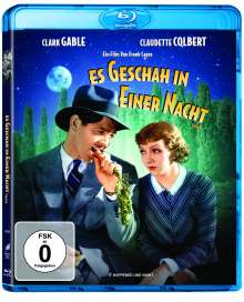 Es geschah in einer Nacht (Blu-ray Mastered in 4K), Blu-ray Disc