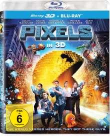 Pixels (3D & 2D Blu-ray), 2 Blu-ray Discs