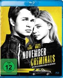 November Criminals (Blu-ray), Blu-ray Disc