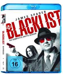 The Blacklist Staffel 3 (Blu-ray), 6 Blu-ray Discs
