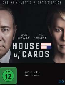 House Of Cards Season 4 (Blu-ray), 4 Blu-ray Discs