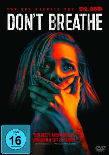Don't Breathe, DVD