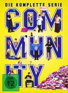 Community (Komplette Serie), 17 DVDs