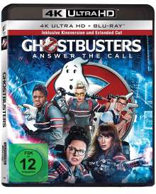 Ghostbusters (2016) (Ultra HD Blu-ray & Blu-ray), 1 Ultra HD Blu-ray und 1 Blu-ray Disc